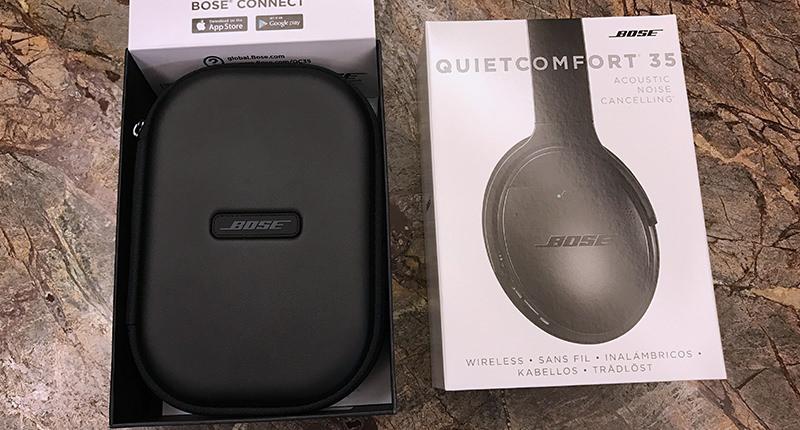 Bose QuietComfort 35 Unboxing1