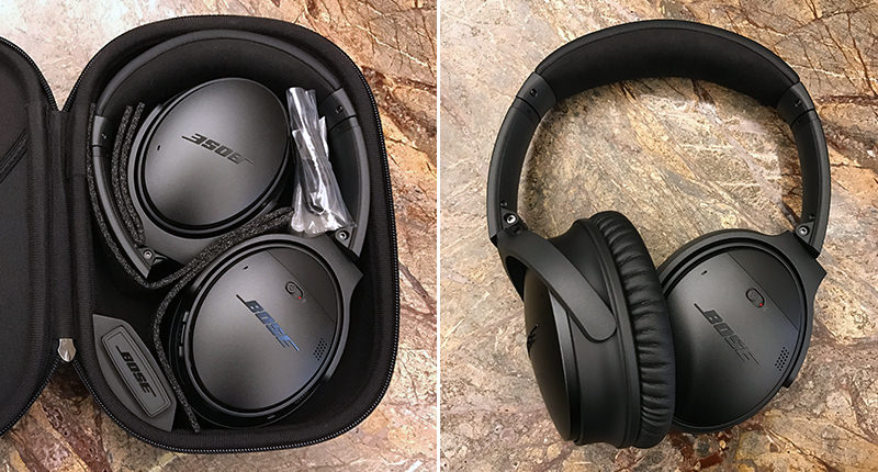 Bose QuietComfort 35 Unboxing2