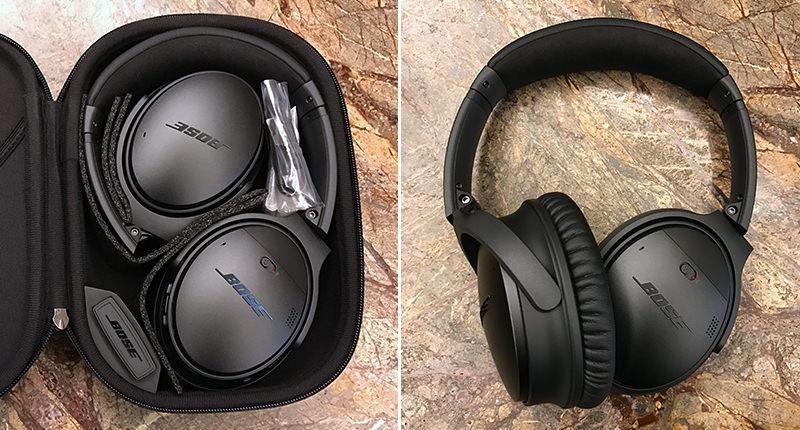Bose QuietComfort 35 Unboxing2