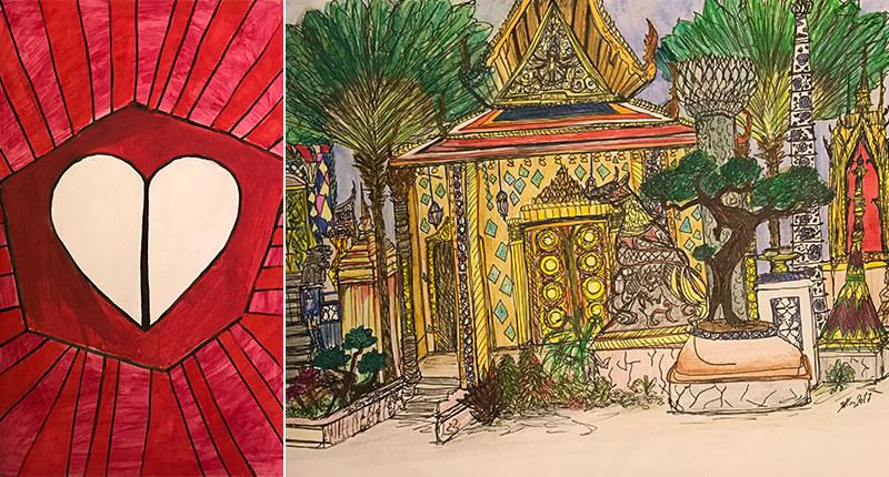 Mira El Khalil Drawings