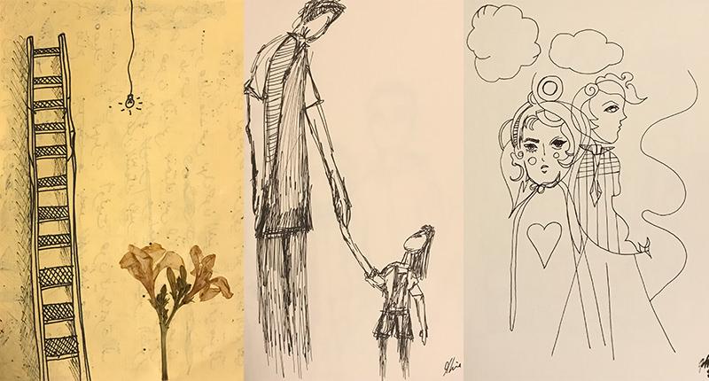 Mira El Khalil Sketches