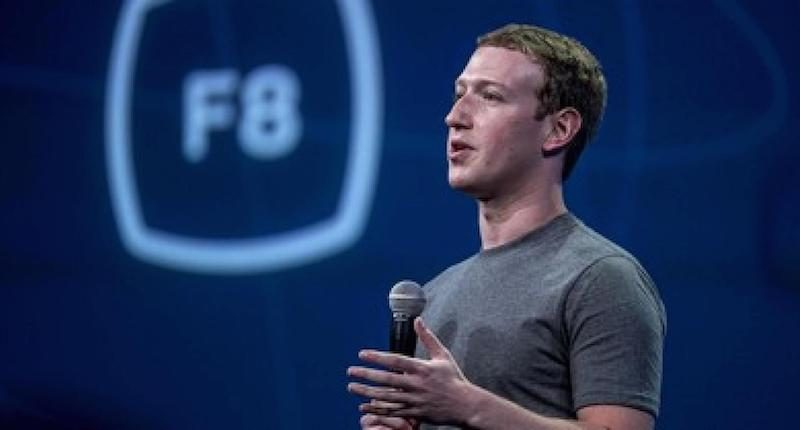 Mark Zuckerberg Facebook F8