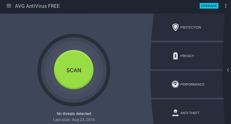 AVG Antivirus Scan