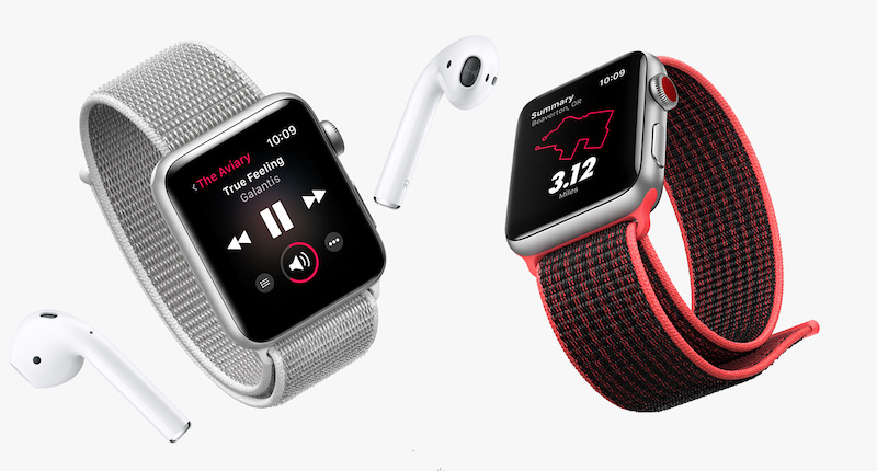Apple Watch Series 3 GPS Cellular AirPods Techie Dad