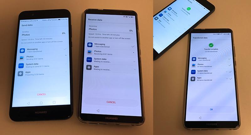 Huawei Mate 10 Pro Transfer