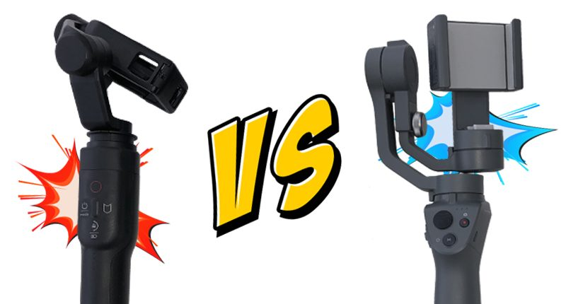 GoPro Karma Grip Vs DJI OSMO Mobile 2